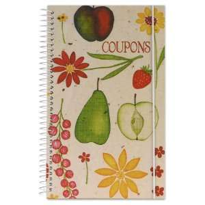 Coupon Organizer Book   Fruit & Flower by Meadowsweet Kitchens