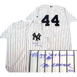 Reggie Jackson New York Yankees Autographed Home Jersey with Mr