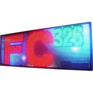 FC326 Programmable Full Color LED Window Sign Display (RGB
