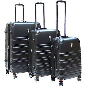 CalPak Modesto 3 Piece Hardside Spinner Set Luggage