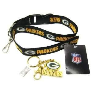 Original Green Bay Packers Keychain Lanyard Pack
