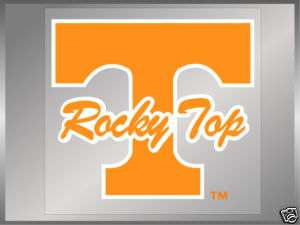 LOT OF 12 Tennessee Vols ROCKY TOP T static decals UT