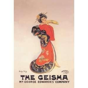 Geisha Mr. George Edwardes Company 16X24 Giclee Paper