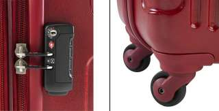 Heys USA CENTIUM 4WD Expandable Luggage Set RED 806126023400