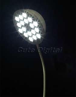 Flexible Desk Lamp 18 LED USB/Battery Power Work Light Lamp
