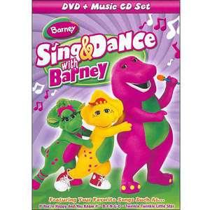 Barney Sing & Dance (With Music CD) (Full Frame) TV Shows