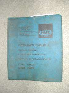 573 671 672 HE673 SERVICE SHOP REPAIR MANUAL DIESEL ENGINE BOOK