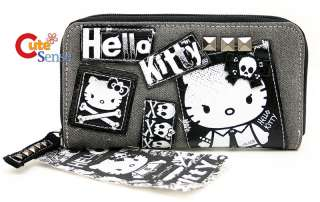 Sanrio Hello Kitty Punk Rock Wallet  Licensed Loungefly