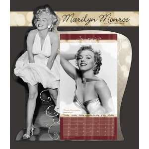 Marilyn Monroe 2011 Easel Desk Calendar: Office Products