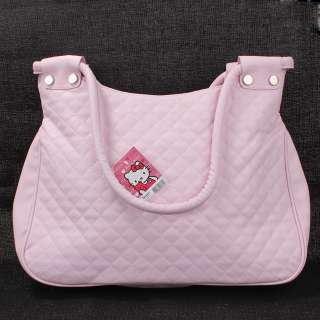 Pink hello kitty travel tote shoulder bag handbag purse