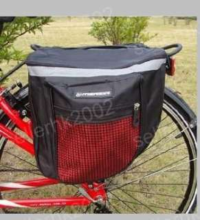 New Double Sides Cycling Bicycle Bike Rear Seat Bag Red
