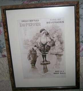 RARE VINTAGE 1910 DR PEPPER ADVERTISEMENTS