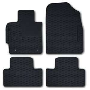 Vinyl Floor Mats Black Set 4 Mazda CX 7 07 08 09 10 Automotive