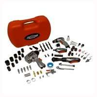 NEW SPEEDWAY SERIES 8974 74 PIECE DELUXE AIR TOOL KIT 2 WRENCHES