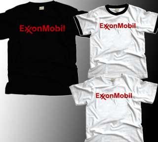 Exxon Mobil Logo Oil Company T Shirt S M L XL XXL XXXL