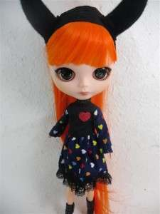 Blybe Basaak CCE Doll Outfit Halloween Set Costume 3 pcs dress