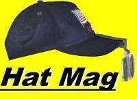 Clip on Hat Bill Magnifier fits Baseball Cap great for beading