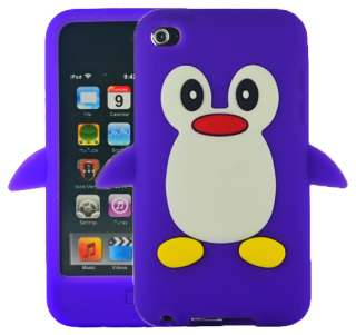 Apple iPod Touch 4/4th Gen/Generation Silicone Skin Case Cover