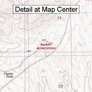 Map   Big Horn, Arizona (Folded/Waterproof)