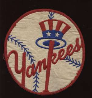 1950s New York Yankees Game Used Jacket Patch