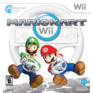 Wii Mario Kart Wii with Wheel for Nintendo Wii   Nintendo   Toys R