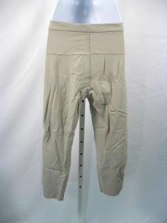 NWT DIESEL STYLE LAB Taupe Cropped Pants Capris 28 $299