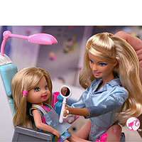 Barbie I Can Be Doll Playset   Dentist   Mattel