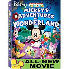 Disney Mickey Mouse Clubhouse Mickeys Adventures in Wonderland DVD