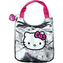 Hello Kitty Tote Bag   Disco Dot   Silver   Fashion Accessory Bazaar