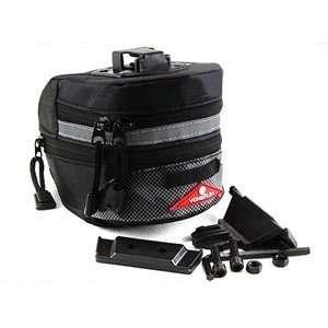 COSMOS ® Black Color Bike Cycling Saddle Bag/Case