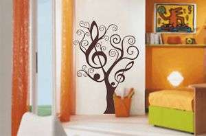 MELODY TREE wall art sticker   vinyl decal