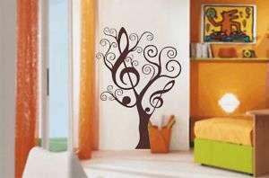 MELODY TREE wall art sticker   vinyl decal