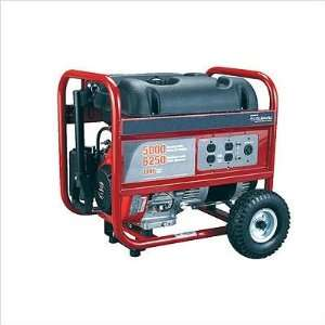 PM0435005 5000 Watt Powermate Portable Generator  Patio