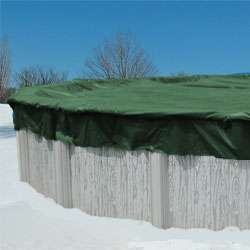 16x32 Oval Aboveground Swimming Pool Winter Cover 12 YR