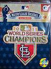 MLB Official St Louis Cardinals 2011 World Series Champions Patch