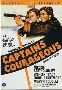 Captains Courageous (1937) Spencer Tracy DVD