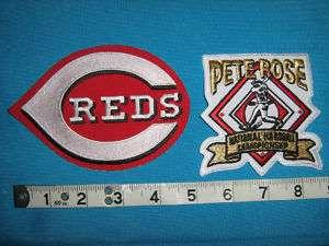 CINCINNATI REDS PETE ROSE JERSEY MLB BASEBALL Patch