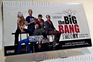 BIG BANG THEORY CRYPTOZOIC FACTORY SEALED BOX(24 PACKS)