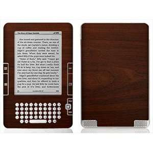 Maple Wood Grain Skin for Kindle 2 MP3 Players