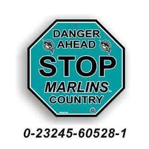 MLB Florida Marlins Stop Sign *SALE*