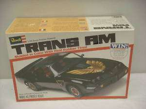 VINTAGE REVELL 1/25 1978 TRANS AM MODEL KIT SEALED
