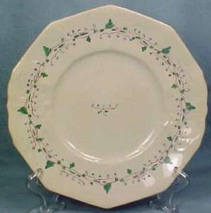 Lovely Antique SPRIG SOFT PASTE PLATE Flowers