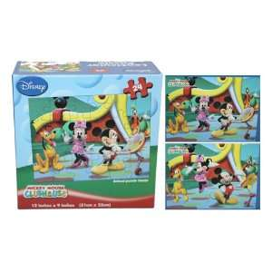 Disney Mickey, Minnie & Friends 3D Lenticular Puzzles