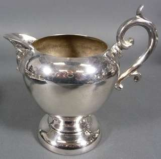 Crown Birmingham Silver Co. BSC Tea Coffee Service Silverplate