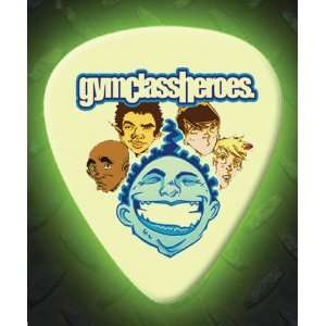 Gym Class Heroes 5 X Glow In The Dark Premium Guitar Picks