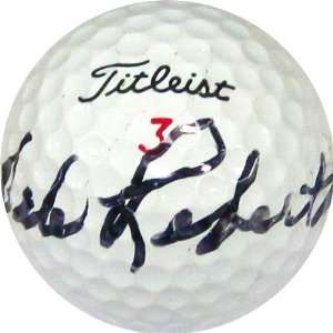 Dale Robertson Autographed / Signed Golf Ball