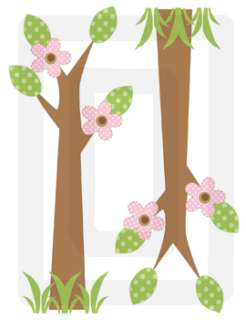 BARNYARD BROWN PINK GIRL NURSERY WALL STICKERS DECALS