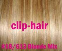 18 CLIP IN REMY REAL HUMAN HAIR EXTENSIONS FULL HEAD 7PCS
