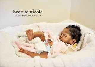 ORDER DEPOSIT Reborn AA A/A African American Black Biracial by Brooke