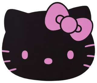 Kitty Black & Pink Car or Floor Mat Nice & Thick Rubber Rare
